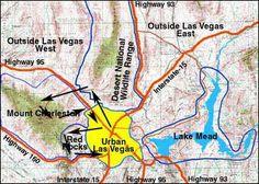 NW birding trail map