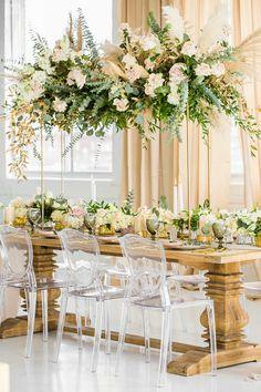 Homemade Wedding Centerpieces, Wedding Centrepieces, Wedding Decorations, White Wedding Gowns, Boho Wedding, Dream Wedding, Prom Flowers, Wedding Flowers, Wedding Trends