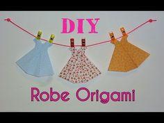 DIY Robe Origami - Tutoriel Facile - YouTube