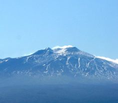 Mount Etna - the tallest active volcano of Europe and the 2nd most active volcano of the World. Sicily.