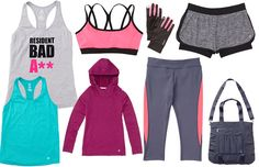 Cute AND Affordable: Jillian Michaels' Activewear Line at Kmart Cute Athletic Outfits, Cute Gym Outfits, Sport Outfits, Athletic Clothes, Athletic Wear, Celebrity Workout Style, Womens Workout Outfits, Fitness Outfits, Fitness Tips