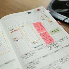 Last week's Hobonichi Weekly layout. A very busy week for me. #hobonichicousin #hobonichiweekly #functionalplanner
