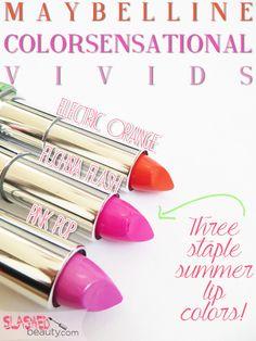 REVIEW: Maybelline ColorSensational Vivids Lip Colors