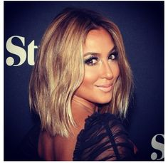 Adrienne Bailon, love her color and cut...
