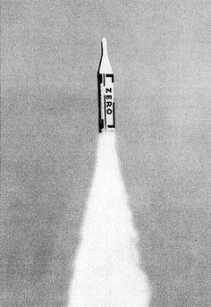 Zero Rocket by Heinz Mack 1961