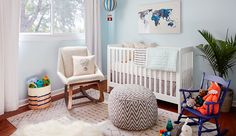 """""""Oh, The Places You'll Go"""" Nursery http://www.ruemag.com/home-tour-2/rooms-we-love/oh-the-places-youll-go-nursery"""