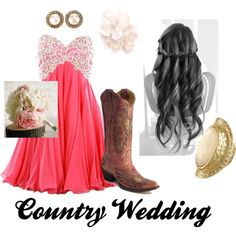 Country Bridesmaid! click on the link & vote for this outfit!