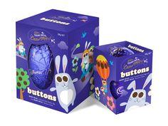 Cadbury - Buttons Easter Eggs