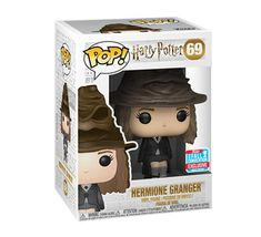 db00165b0af Harry Potter - Hermione Granger with Sorting Hat  69 (NYCC 2018) Funko Pop!  Vinyl