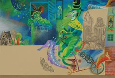 "Volf Bulba illustration for ""Grandolina""."
