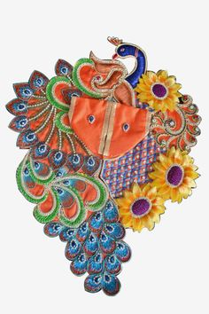 #LadduGopal #Dress... Baby Dresses, Summer Dresses, Laddu Gopal Dresses, Krishna Lila, Bal Gopal, Ladoo Gopal, Puja Room, India Jewelry, Dress Designs