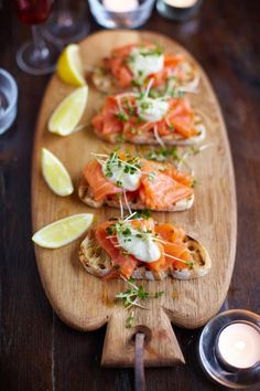 be healthy-page: Smoked salmon, horseradish & cress toasts
