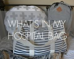 Being a first time mama I wasn't sure what all was necessary to take to the hospital, but after looking at quite a few websites and lists, I think I have a pretty good idea of what I will need! I actually had a lot of fun gathering everything together, I love being organized and having everyth