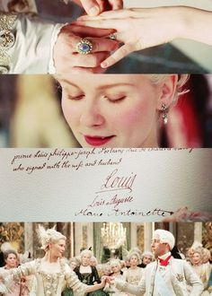 Marie Antoinette Mary's and Louise wedding