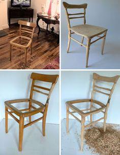 sillas creativas de madera quiero ms diseo