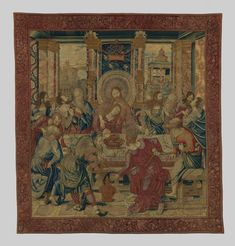 Designed by Bernard van Orley | The Last Supper | The Met