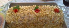 Foto - Receita de Torta fria de atum natalina