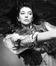 Kate Bush by John Carder Bush for 'The Ninth Wave' Hounds of Love 1985