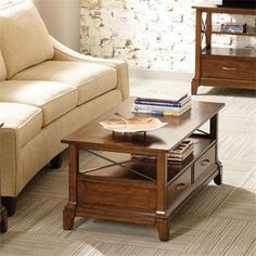 Lawrenceville Rectangular Coffee Table I Riverside Furniture