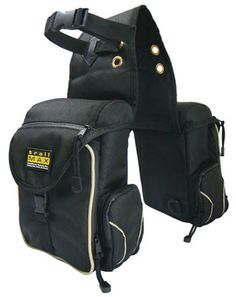 Saddles Tack Horse Supplies - ChickSaddlery.com TrailMax 500 Series Back Saddle Pockets