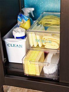 under-sink organization