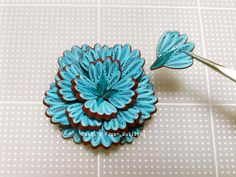 """How to make the first HOW TO """"Mokomoko petals"""" - Quilling Paper Crafts Quilling Flowers Tutorial, Paper Quilling Flowers, Paper Quilling Cards, Quilling Work, Paper Quilling Jewelry, Neli Quilling, Paper Quilling Patterns, Quilling Paper Craft, Paper Crafts"""