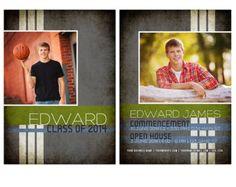 104 best guys graduation announcements images card templates