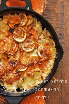 Sweet Potato Parmesan Gratin - (Free Recipe below) - Market 71