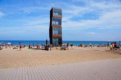 Barcelona in summer