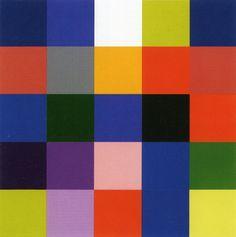 """Gerhar Richter, """"25 colores"""", 2007  Catalogue Raisonné: 901-1. Tomado de http://www.gerhard-richter.com"""