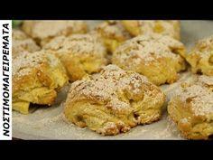 Εύκολα Μπισκότα με μυρωδιά κανέλας και κομμάτια μήλου σε ελάχιστο χρόνο - YouTube Cinnamon Cake, French Toast, Cooking Recipes, Sweets, Bread, Cookies, Breakfast, Desserts, Food