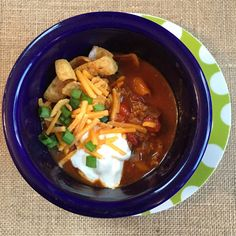 Loaded Bowl of Chili