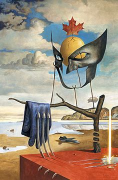 AWESOME Dali inspired Wolverine