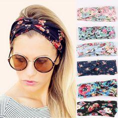 Retro mulheres turbante elástico trançado do cabeça de Floral grande estiramento faixa de cabelo menina acessórios de cabelo em Acessórios de Cabelo de Moda e Acessórios no AliExpress.com | Alibaba Group