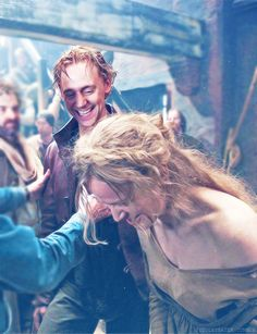 Prince Hal portrayed by Tom Hiddleston in The Hollow Crown