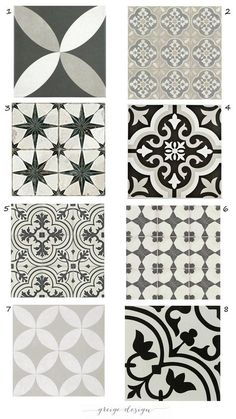 Get the Look of Cement tile with Ceramic – Greige Design