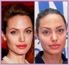 CELEBRITY MAKEUP BEFORE AND AFTER - http://stylesstar.com/celebrity-makeup-before-and-after.html