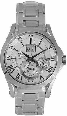 Seiko Men's Watches Premier Kinetic Perpetual SNP019P1 - 2 5 Seiko. $439.00. Leap year disc (7D48)Power save function. Movement from Japan. Leap year hand (7D46 / 7D56). Calibre: 7D48. Accuracy: 15 sec. / month. Save 54%!