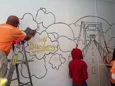 Reed Elsevier College Access Mural Day