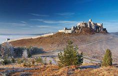 Hike to castle Spissky Hrad #Slovakia