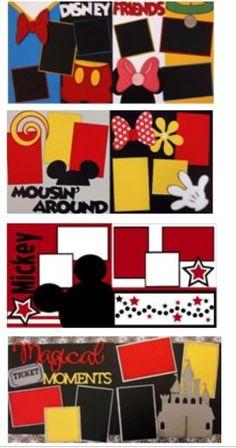 Disney Scrapbook Page like layout ideas Ideas Scrapbook, Album Scrapbook, Vacation Scrapbook, Disney Scrapbook Pages, Scrapbook Sketches, Scrapbook Page Layouts, Baby Scrapbook, Scrapbook Paper Crafts, Scrapbook Supplies