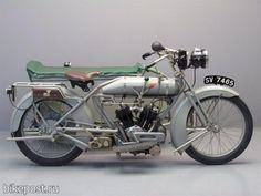Старинный мотоцикл BAT Модель 5