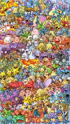 A cross stitch pattern of the original 151 pokemon. Difficulty god of gods mode. Guess i should start practicing.