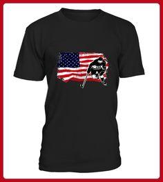 American Ice Hockey USA Vintage Flag Tanks - Tischtennis shirts (*Partner-Link)