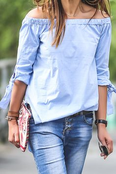 49 Most Trendy Summer Outfits To Upgrade Your Wardrobe Fall Fashion Outfits, Spring Outfits, Autumn Fashion, Casual Outfits, Blouse Styles, Blouse Designs, Mode Inspiration, Daniel Wellington, Black Women Fashion