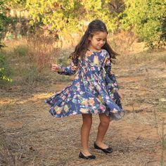 Nuki'le Girl's Long Sleeve Spin Dress - Owl Print Blue - Sizes 2 - 10 Years Nuki'le Girl's Long Sleeve Spin Dress - #Owl Print Blue - Sizes 2 - 10 Years #spin #dress #twirl #modest #littlegirldress #kidsclothes #littlegirlsdresses #playdress #party #winter #lycra