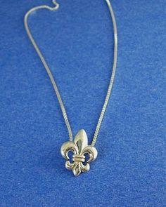Fleur de Lis Chain