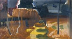 Ivon Hitchens - Autumn Landscape
