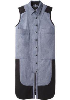 PROENZA SCHOULER | Sleeveless 2 Pocket Shirtdress | Shop @ La Garçonne