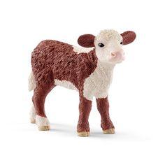 13867 Schleich Hereford vache Farm World plastique Figure